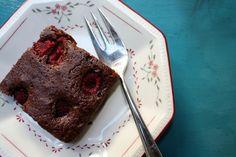cocoa raspberry brownies - a nice & simple recipe