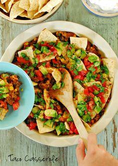 Taco Casserole Recipe using @Erin McCormick Spice #groundbeef #recipe #McCormickHomemade #sponsored