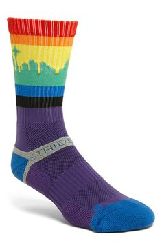 STRIDELINE 'Seattle' Socks from Nordstrom. These socks are a MUST have if you live in Seattle or just love Seattle. :)