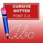 With this ABC Cursive Dotted Font, especially designed  for teachers, you can easily create hundreds of handwriting, spelling & penmanship less...
