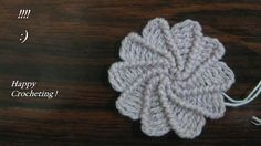 The Crochet Charm: Spiral Flower Pattern . Finally found a FREE pattern and tutorial to do this awesome flower.