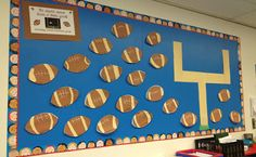 ARE YOU READY FOR SOME FOOTBALL??  THEME FUN   FREEBIES So much more fun that a Field Goal-- Yearly Goal Setting (Bulletin Board idea)