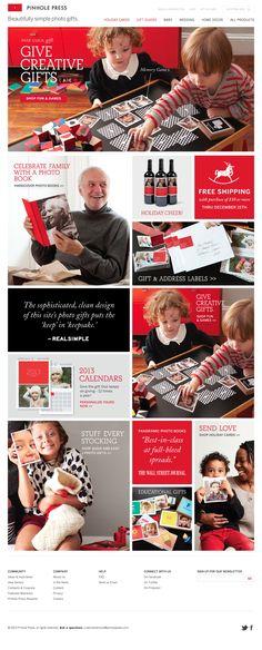 Love the color-coordinated grid layout of the Pinhole Press home page. | #webdesign #it #web #design #layout #userinterface #website #webdesign < repinned by www.BlickeDeeler.de | Visit our website www.blickedeeler.de/leistungen/webdesign
