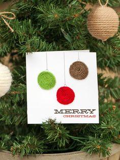 16 Handmade Holiday Cards : Decorating : HGTV