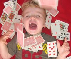 Easy Card Games to Play with Kids!