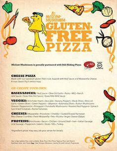 Mellow Mushroom's Gluten Free menu!!