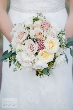 Spring bridal bouque