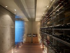 wine cellar | Nightindale Drive | Los Angeles, CA | Dugally Oberfeld Inc