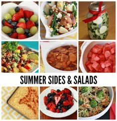 Summer Sides  Salads // One Lovely Life