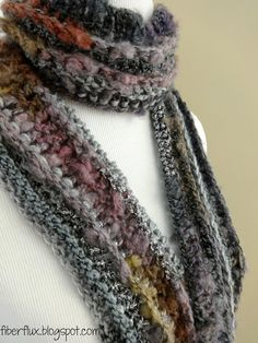 Pixie Dust Scarf (Free Crochet Pattern)