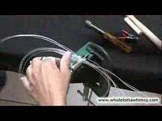 Wire Weaving Tutorial   http://www.youtube.com/user/TonyaWLW