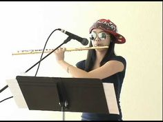 15 year old Annie Wu rocks the Three Beats For Beatbox Flute love the blingy flute.