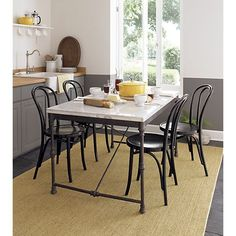 French Kitchen Bistro Table in Dining Tables | Crate and Barrel