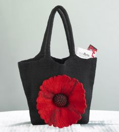 felt bags, purs art, awesom bag, bolso, poppi bag, bag three, felt tote, felted bags