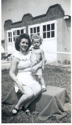 """My Mom & me. Happy Mother's Day Mom. I miss you!!"" ~Carol"