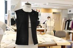 Making of the Chanel Little Black Jacket: In the atelier. © Chanel