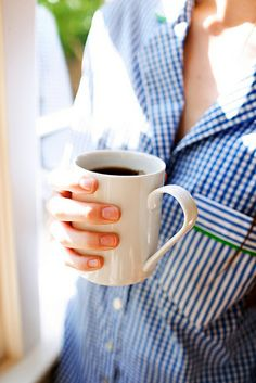 Coffee in the morning...for sure
