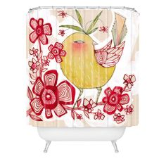 Cori Dantini Sweetie Pie Shower Curtain | DENY Designs Home Accessories