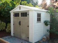Shed on pavers