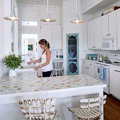 pretty kitchen {coastal living}