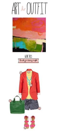 Art to Outfit  |  The Fresh Exchange Summer, Slow & September