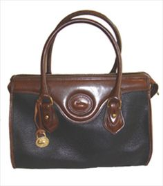 Dooney & Bourke Designer Vintage Purse...  My mom had this purse (or at least a knock off of it) when I was little!