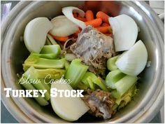 A Busy Mom's Slow Cooker Adventures: Turkey Stock - Gluten-Free