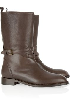 Perfect winter & rainy days boots by YSL