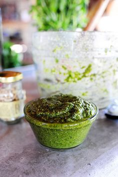 Pesto from the pioneer woman
