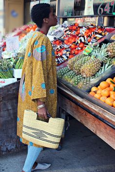 Stylish Basket Tote – africaboutik