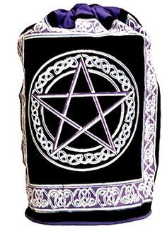 Celtic Pentacle Backpack - 100% Cotton