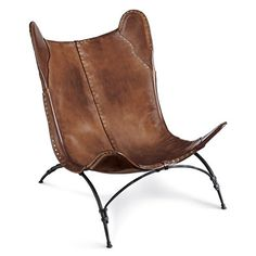 New Safari Camp Chair - Chairs / Ottomans - Furniture - Products - Ralph Lauren Home - RalphLaurenHome.com
