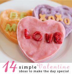 Simple Valentine Ideas. 14 of them!