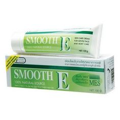 Smooth E Cream Anti Aging Wrinkles Vitamin E Aloe Vera Scars Acne Spot Mark 100g. by Smooth E. $22.00. Highly recommended by dermatologists. Best selling scar and fine line reducing cream in drug stores personal health care chains, supermarkets in Thailand. Radical Protector. Scar Reducer. Increase protein growth(Keratinization) in the skin. SMOOTH E SCAR REDUCER ALOE VERA VITAMIN E CREAM Size : 100 g No. 1 Best selling scar and fine line reducing cream in drug stores,...