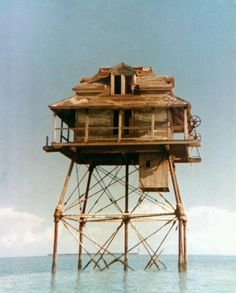 Northwest Channel ... House on Stilts