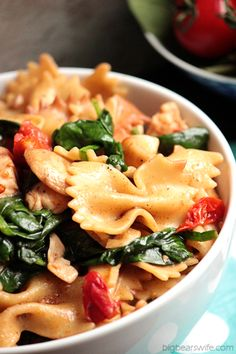 Easy 30 Minute Brown Butter Chicken Pasta | BigBearsWife.com
