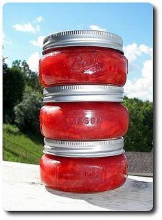 Strawberry-Rhubarb Freezer Jam