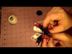 Como hacer lazo Loopy Puff