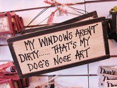 Dog's nose art, gift for mommy?