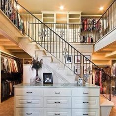 Wow!!!! A two-story closet!!!!!!! :-)