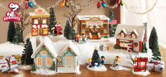 Department 56 has a Peanuts/Charlie Brown Christmas village!