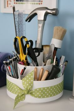 old pampered chef tool turn about repurposed perfectly