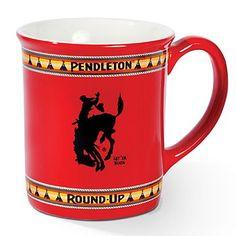 Pendleton Round Up Mug..... I want one!