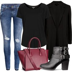 """""""Untitled #1745"""" by oliviaswardrobe on Polyvore  Needs some jewelry..."""