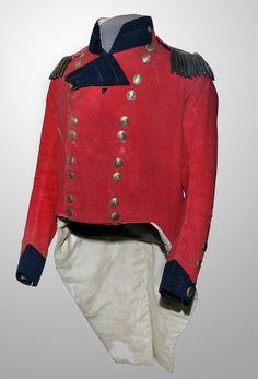 General Isaac Brocks coat worn day of his death Queenston Heights 1812