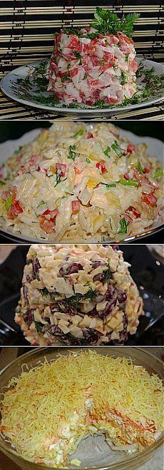 Вкусные недорогие быстрые рецепты салатов