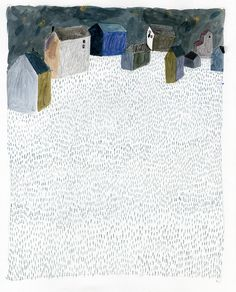 little winter houses ::  Jennifer Smith