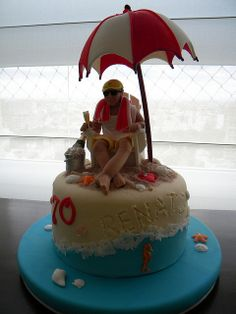food, beach cakes, amaz cake