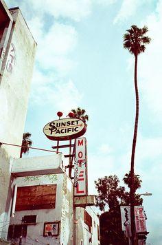 The Sunet Pacific Motel in Silverlake, LA