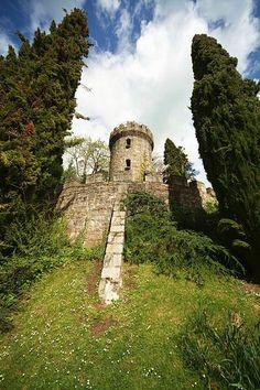 Pepperpot Tower in Powerscourt Gardens Enniskerry, Ireland Copyright: Chris Kwasnicki